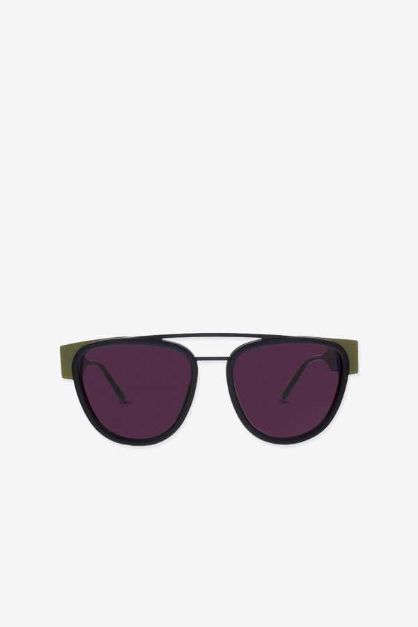 Men's Smoke x Mirrors Sodapop II Sunglasses in Gold Green/Black