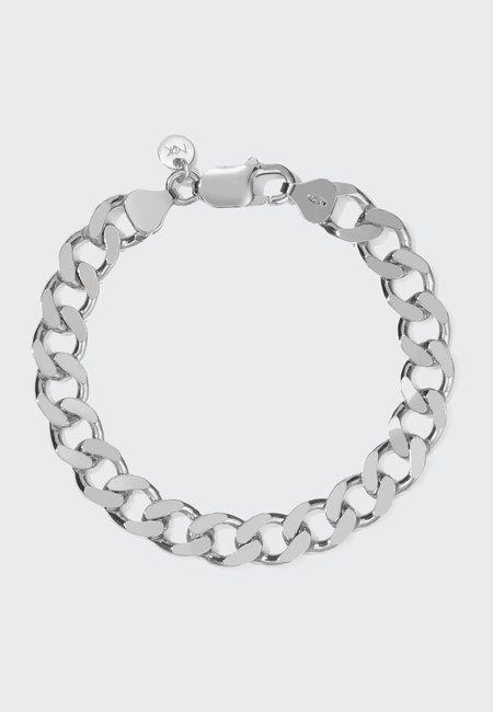 Meadowlark Medium/Large Lucien Chain bracelet - silver