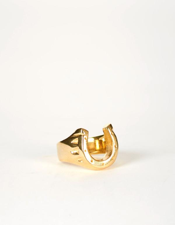 Jon Swinamer Horse Shoe Ring Bronze