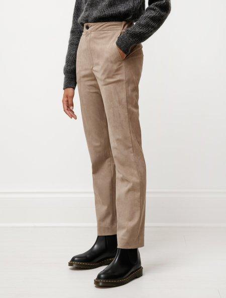 Stephan Schneider Acronym Suede Trousers - Tan