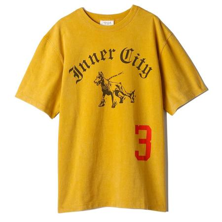 Honor The Gift Division One T-shirt - Mustard