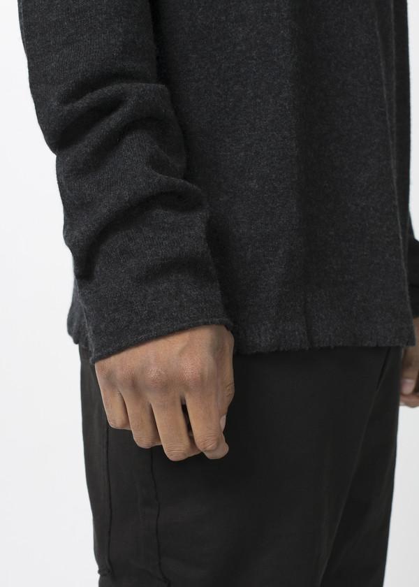 Men's Rundholz Raw Neck Sweater