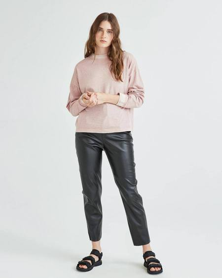 Sold Outrelaxed Long Sleeve Pullover - Soft Mauve