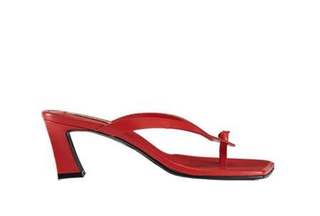 Reike Nen Flip Flop Heel - Red