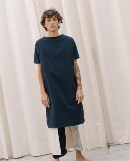 NIN STUDIO Tunic Double Dress - Black/White