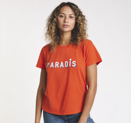 trovata jett t shirt - red paradis