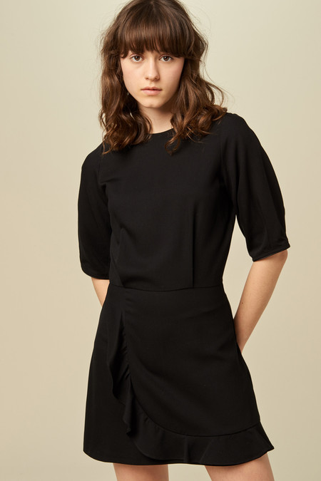 Sessun Patty Dress - Black