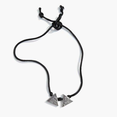 Vintage Kindred Black M Silks Collar