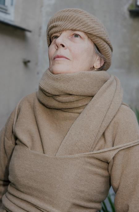Baserange Adet Merinos Wool Turtleneck - Bolsina Melange
