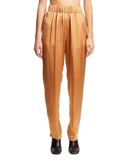 Forte Forte Silk Trousers - Beige