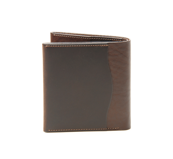 Anchor Bridge Chocolate Brown Ab Billfold Wallet