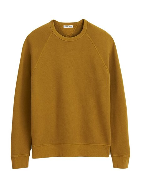 Alex Mill French Terry Sweater - Golden Khaki