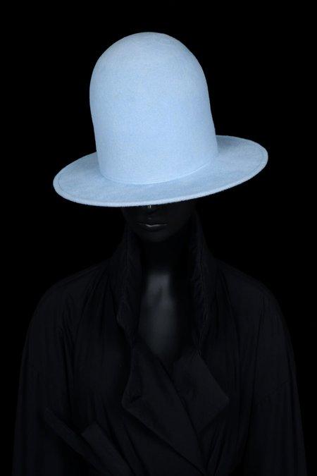 Esenshel DOME OVERSIZED ROUND BRIM HAT - POWDER