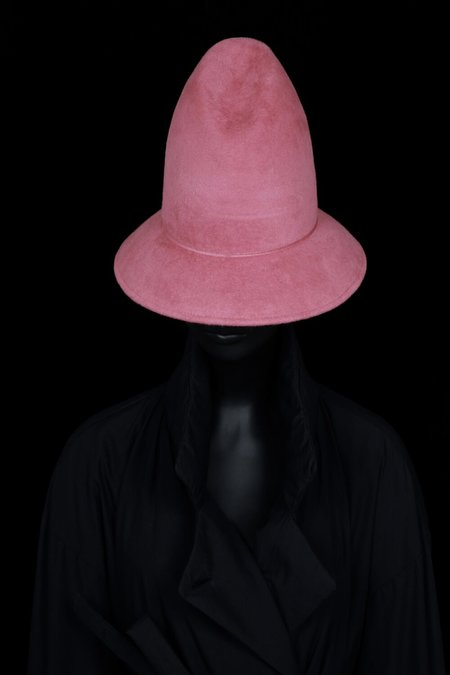 Esenshel PEAK CURVED BRIM HAT - rosé
