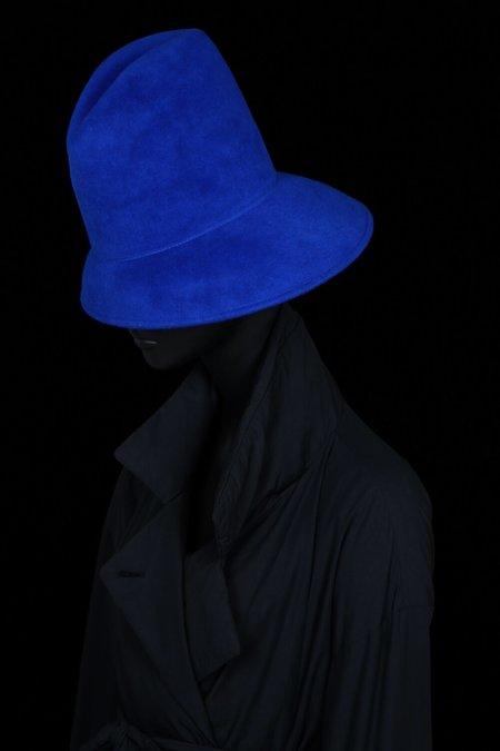 Esenshel SHELTER CURVED BRIM HAT - ROYAL