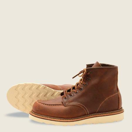 """Red Wing Shoes 1907 Classic Moc 6"""" Boot - Copper"""