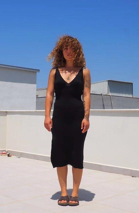 By Signe Damla Knit Dress - Black