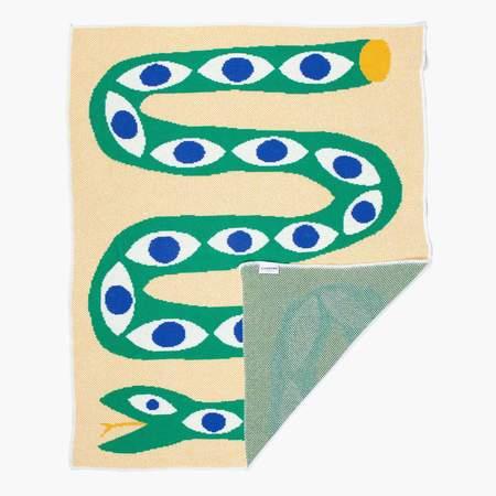 Slowdown Studio Snake Eyes Mini Blanket - Prints