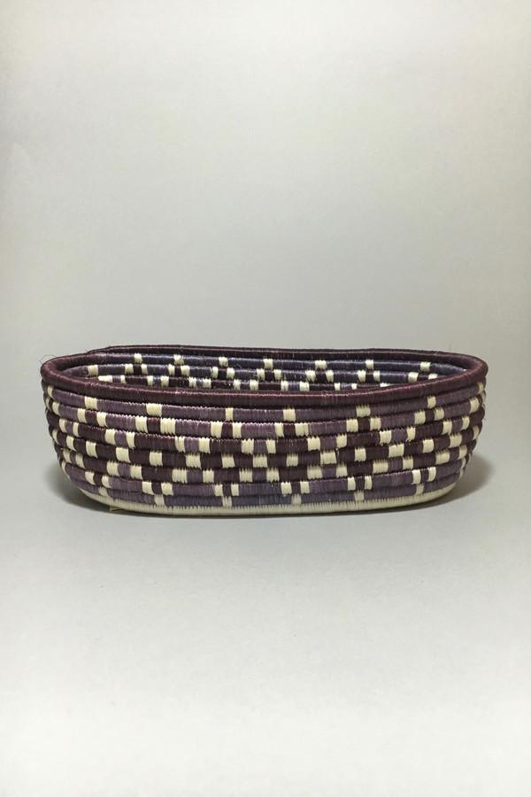 All Across Africa Purple Bread Basket