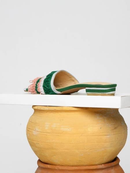 Shekudo Ilamoye Slide Weave - Green