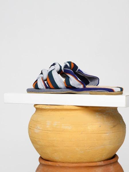 Shekudo Tinubu Slipper Weave - Blue