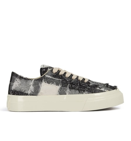 Stepney Workers Club Dellow Low Tops Sneaker - Raw Thread Check