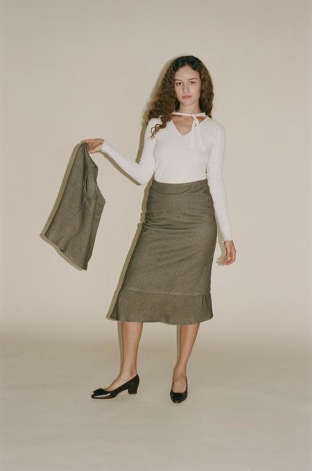 Baserange Adem Skirt - Checked