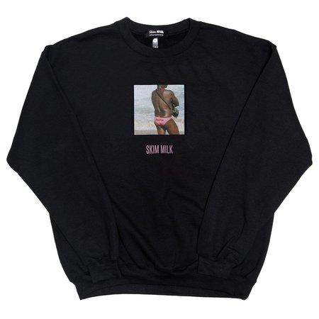 Skim Milk Beyonce sweater - black