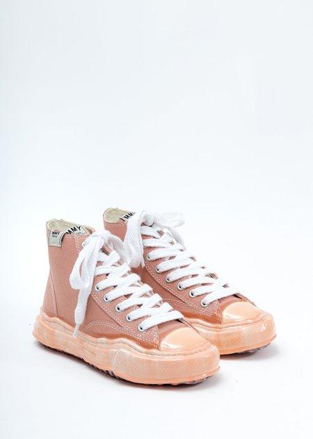 Mihara Yasuhiro  Original Sole Dip High Top Sneaker - Pink