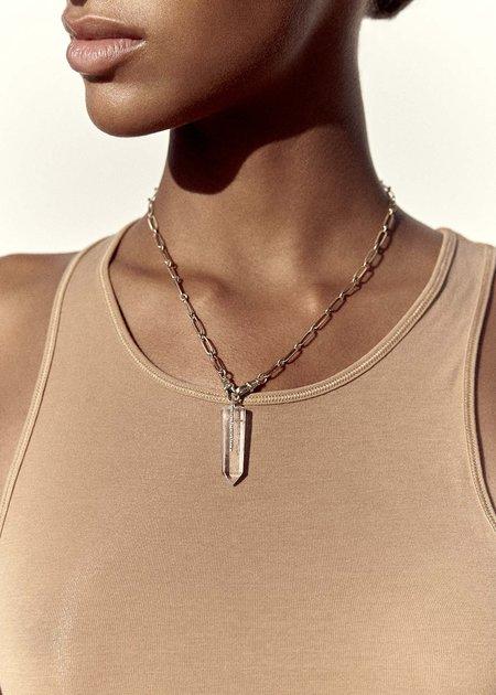 Pascale Monvoisin Moon No. 2 Necklace - Gold 9K