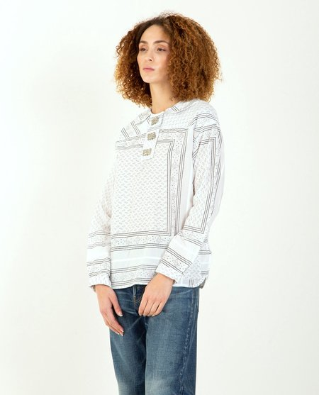WMV VISVIM Kerchief Tunic - White