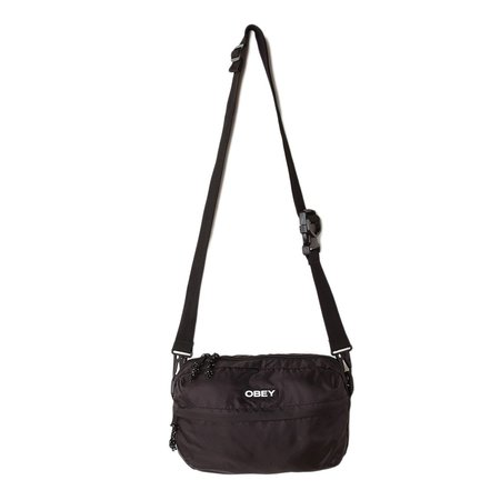 Obey Commuter Traveler Bag - Black