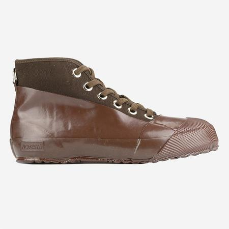 Novesta Rubber Sneaker Boots - Brown/Brown