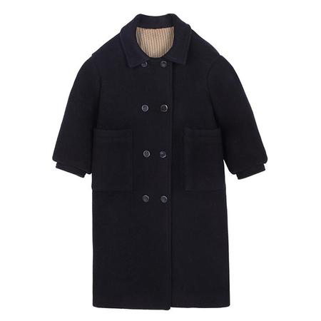 KIDS Tambere Child Laax Double Breasted Jacket - Navy Blue