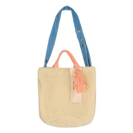 Tambere Woman Reversible Teddy Bag