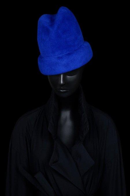 Esenshel YOKO CUFF HAT - ROYAL