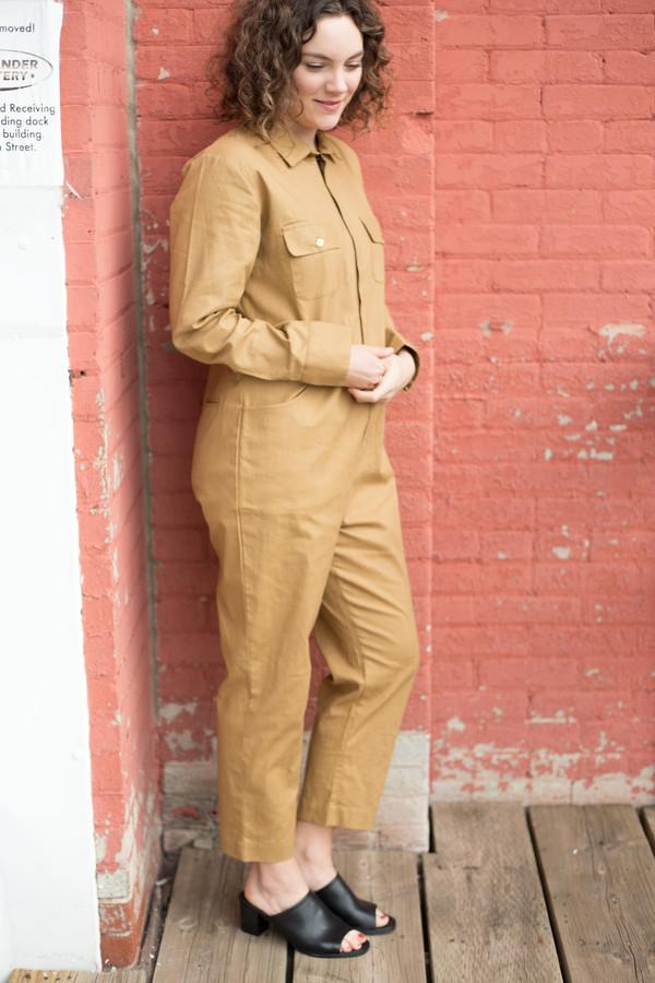Maggie Jayne Flight Suit (Tan)