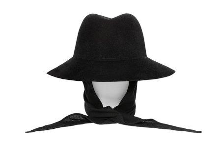 Clyde Aura Wool Hat with Neckshade - Black