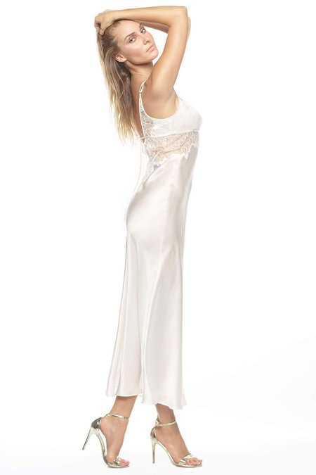nk imode Jezebel After-Dark Long Gown - Ivory