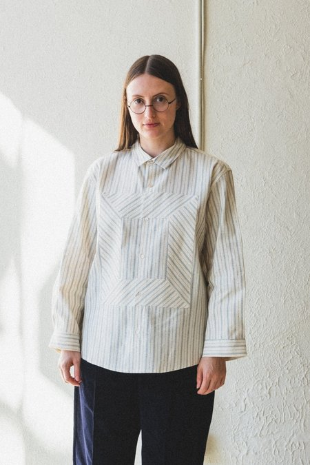 Caron Callahan Alice Shirt - Ticker Stripe