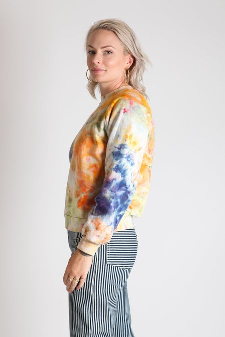 Gravel & Gold Townesie Sweatshirt - Tie Dye