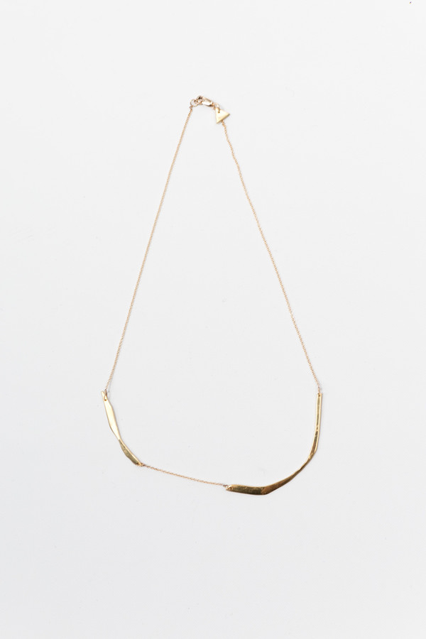 FARIS Cutout Necklace