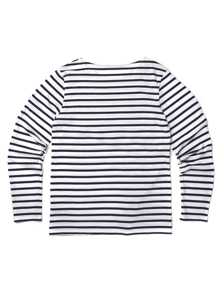 Saint James MINQUIERS MODERN TEE - NEIGE/MAR