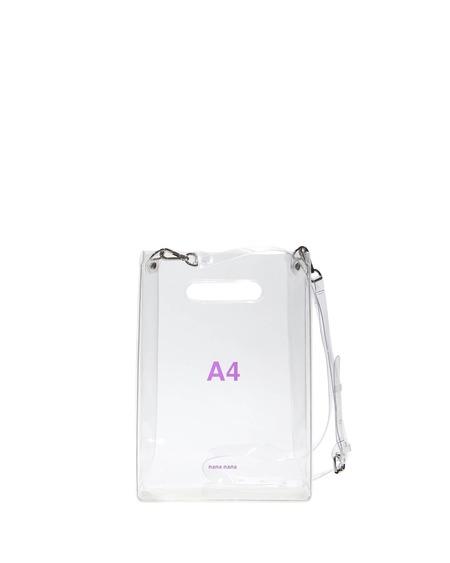 Nana Nana A4 Bag - Transparent