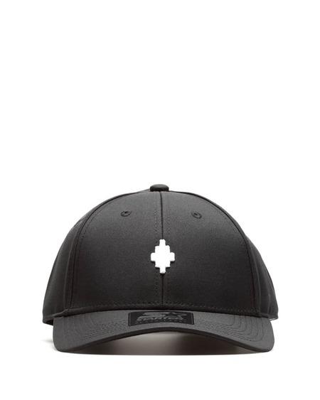 Unisex Marcelo Burlon Cross Hat - Black
