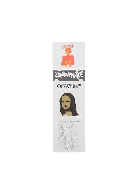 Off-White Monalisa Sticker Set