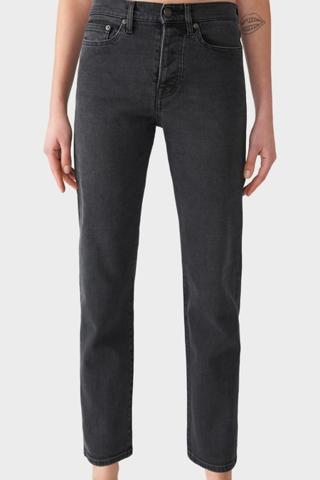 Jeanerica Classic Fit Jeans - Used Black