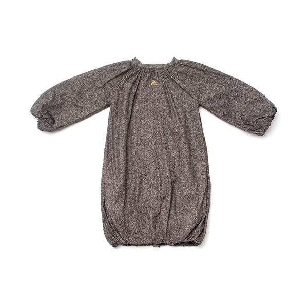 OMAMImini Taupe Bubble Coat