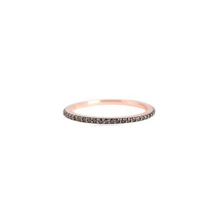 Leah Alexandra   Glint Ring in Rose Gold