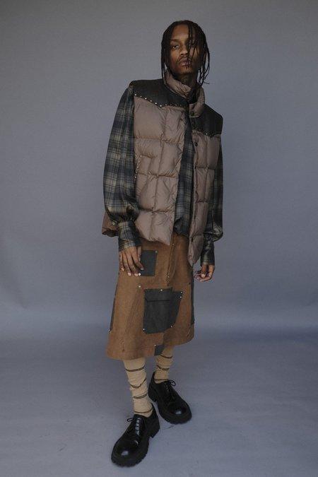 PHIPPS Featherweight Poly Ranger Doudoune Puffer Vest - Bush Grey